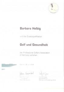 2008 Golf & Gesundheit