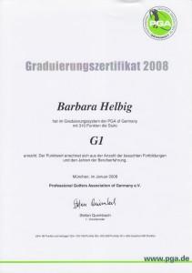 2008 Graduierung G1